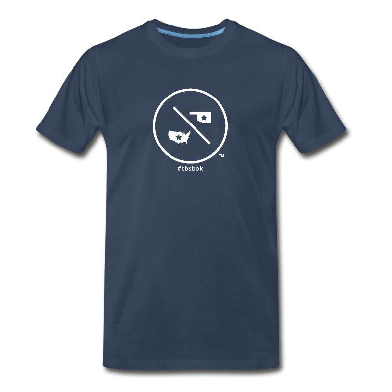 TBSBOK - Navy - Men - Men's Premium T-Shirt