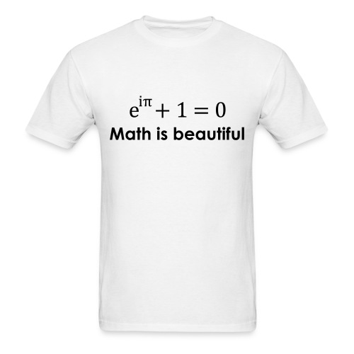 Math is beautiful - Men's T-Shirt