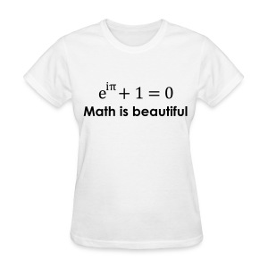 Math is beautiful - Women's T-Shirt