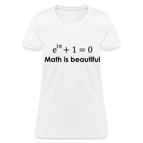 Math is beautiful - Women's T-Shirt
