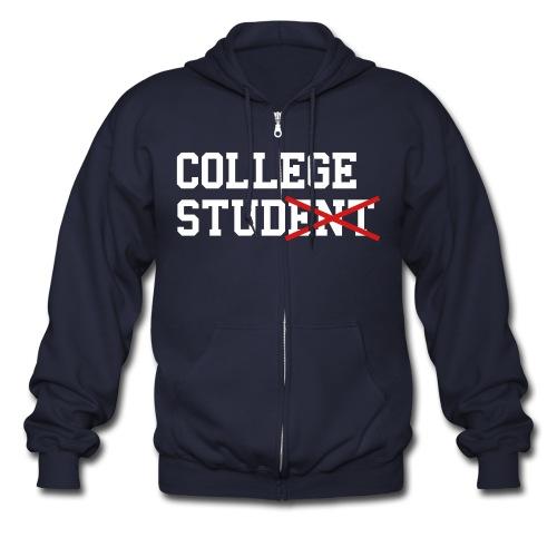 College Stud - Men's Zip Hoodie