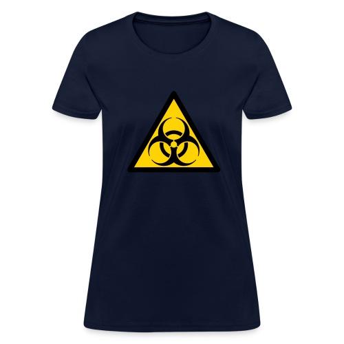 Biohazard sign - Women's T-Shirt