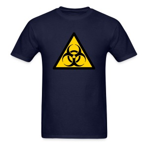 Biohazard sign - Men's T-Shirt