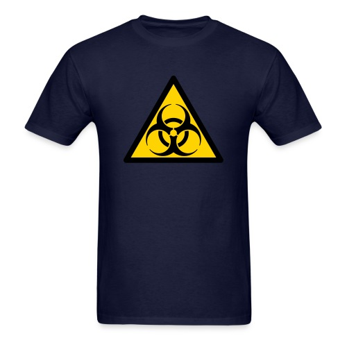 Biohazard sign - Men's T-Shirt