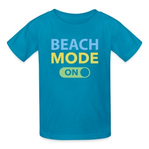 Beach Mode On - Kids' T-Shirt