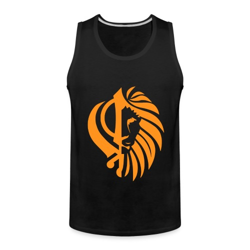 Khanda / Lion tank top - Men's Premium Tank