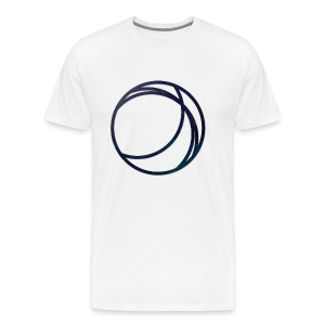 White Umbra Galaxy Shirt - Men's Premium T-Shirt