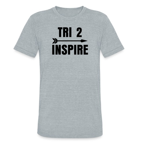 Tri 2 Inspire Sweat In Mens gry - Unisex Tri-Blend T-Shirt