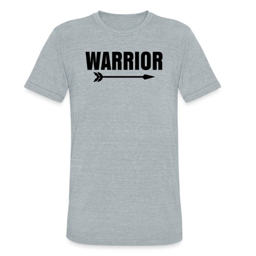 Warrior Sweat In Mens gry - Unisex Tri-Blend T-Shirt