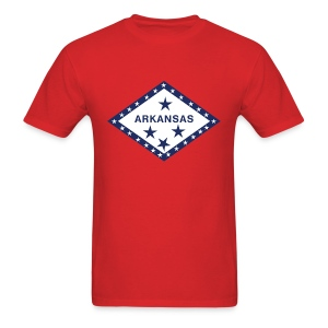 Arkansas Flag Shirt T-Shirts - Men's T-Shirt