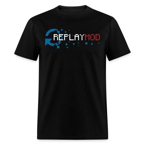 Replay Mod Logo Plain   Men's T-Shirt - Men's T-Shirt