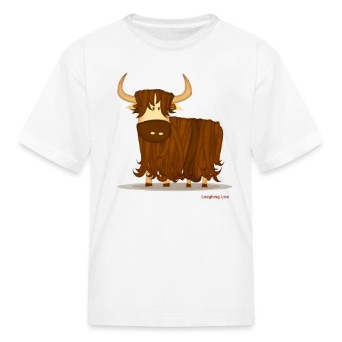 Yak T-Shirt - Kids' T-Shirt