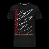 T-Shirts ~ Men's Premium T-Shirt ~ HOME SCHOOL (Multicolor on Black) Version 3