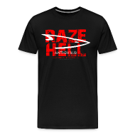 T-Shirts ~ Men's Premium T-Shirt ~ RAZE HELL (Multicolor on Black) Version 1