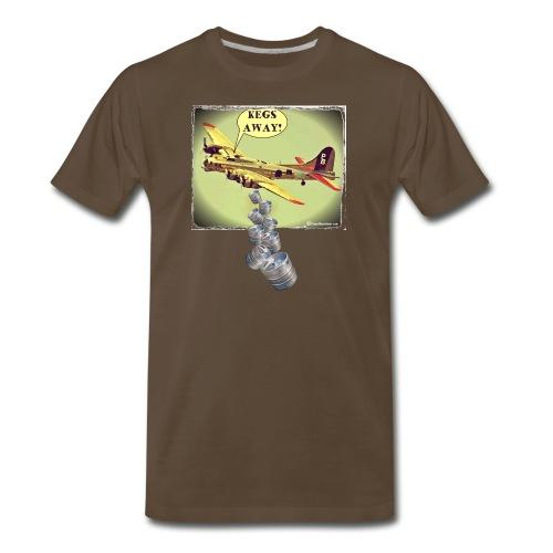 KEGS AWAY! Men's Premium T-Shirt - Men's Premium T-Shirt