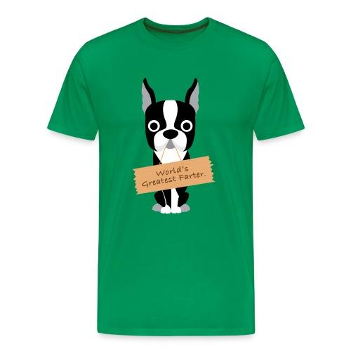 World's Greatest Farter Men's T-Shirt - Men's Premium T-Shirt