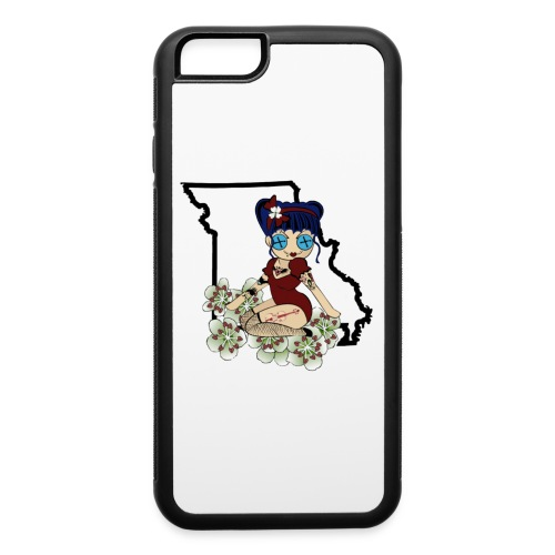 Missouri iPhone 6 Rubber Case - iPhone 6/6s Rubber Case