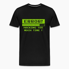 time hack error T-Shirts