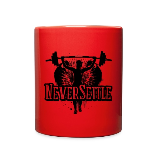 NeverSettle_Print (2).png - Full Color Mug