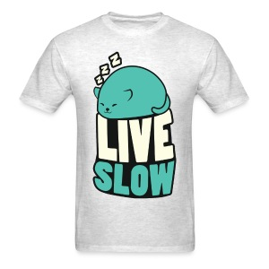 Men's Catblob Sleeping - Men's T-Shirt