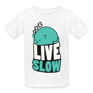 Kid's Catblob Sleeping - Kids' T-Shirt