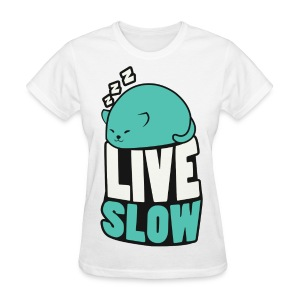 Women's Catblob Sleeping - Women's T-Shirt
