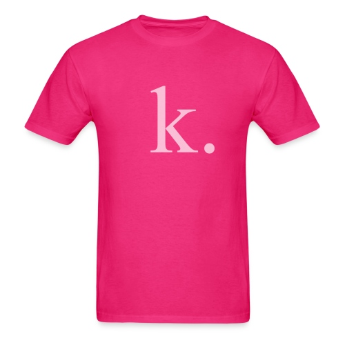 K. shirt - Men's T-Shirt