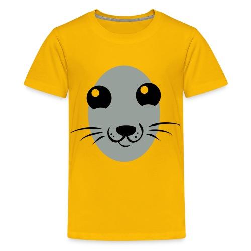 Seal Here  - Kids' Premium T-Shirt