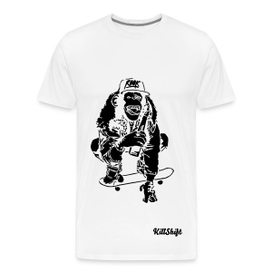 Skating Monkey T-shirt - Men's Premium T-Shirt