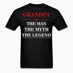 Grandpa-the man T-Shirts