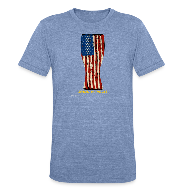 Brewed In The USA Unisex Tri-Blend T-Shirt
