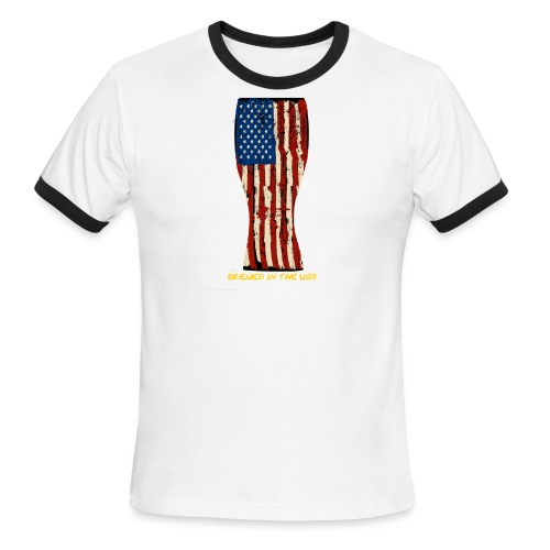 Brewed In The USA Men's Ringer T-Shirt - Men's Ringer T-Shirt