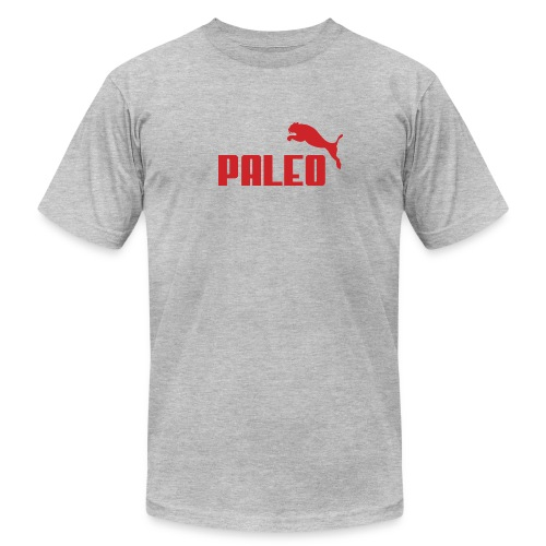 Paleo Saber Tooth Tiger Puma Style T-Shirt - Men's  Jersey T-Shirt