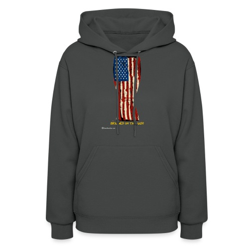 Brewed In The USA Women's Hooded Sweatshirt - Women's Hoodie