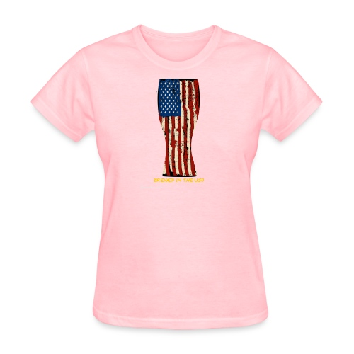 Brewed In The USA Women's T-Shirt - Women's T-Shirt