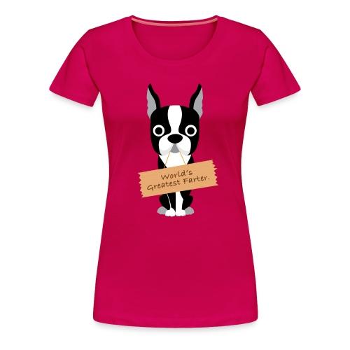 World's Greatest Farter Women's T-Shirt - Women's Premium T-Shirt