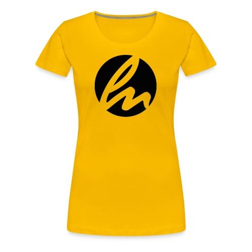 LN Logo Black Tee - Women's Premium T-Shirt