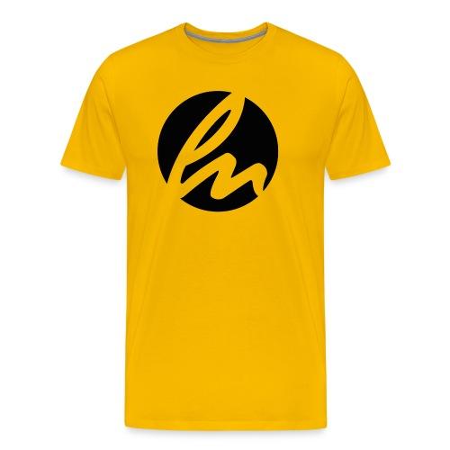 LN Logo Black Tee - Men's Premium T-Shirt