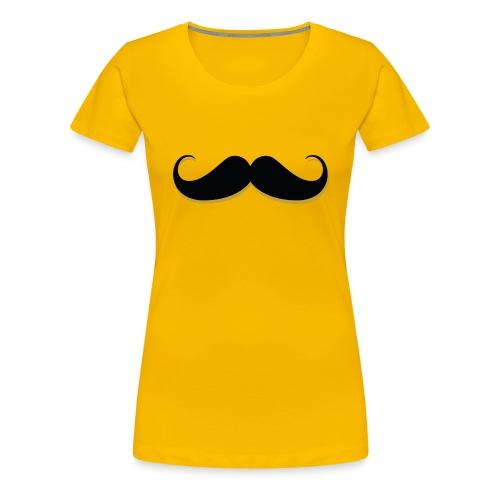 Stache Tee - Women's Premium T-Shirt