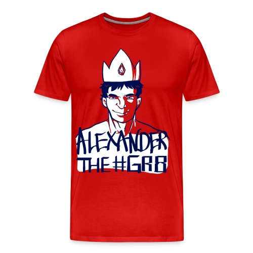 Alexander the Gr8 T-Shirt - Men's Premium T-Shirt