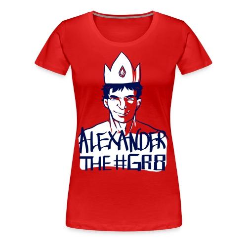 Alexander the Gr8 T-Shirt - Femme Fit - Women's Premium T-Shirt