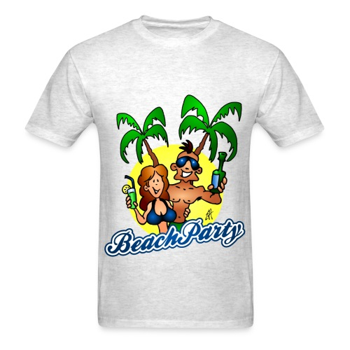 Beach Party - Men's T-Shirt