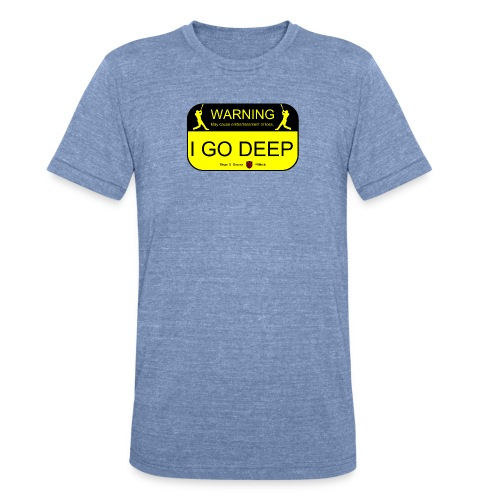 Unisex Deep Warning Athletic Tee Made in the U.S.A. - Unisex Tri-Blend T-Shirt