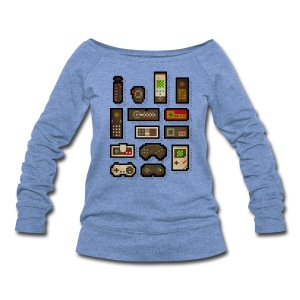 Pixelcontrol - Women's Wideneck Sweatshirt