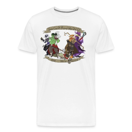 G.C.U.N. 2015 Men's White shirt - Men's Premium T-Shirt