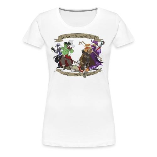 G.C.U.N 2015 Women's White Shirt - Women's Premium T-Shirt