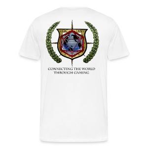 G.C.U.N. 2015 Men's W\hite shirt - Men's Premium T-Shirt