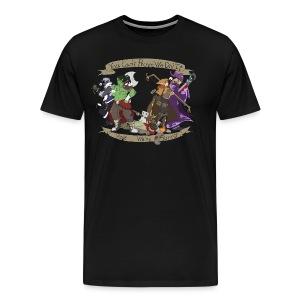 G.C.U.N. 2015 Men's Black shirt - Men's Premium T-Shirt