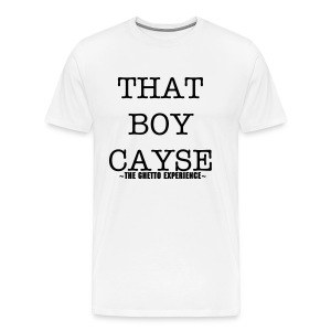 THAT BOY CAYSE Men T-SHIRT (1) - Men's Premium T-Shirt
