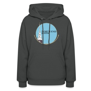 North End Boston - Women's Hoodie